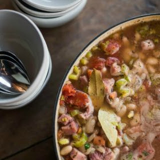 Great Northern Bean Ham Soup.