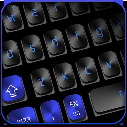 Black Blue Keyboard