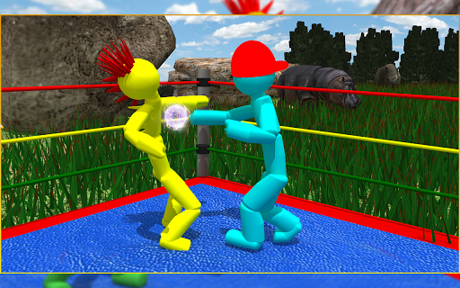 Stickman Wrestling 2.1 screenshots 9