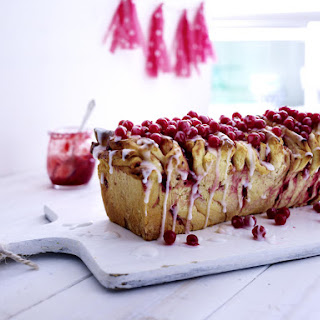 Red Currant Monkey Bread.
