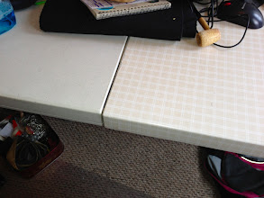 Photo: Folding plastic picnic table, $15, very strong/sturdy/light