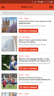 University of Sydney Info Day- screenshot thumbnail
