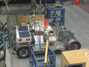 "Photo: Aeriel view of the SCOUT vehicle - ""Science Crew Operations and Utility Testbed"""