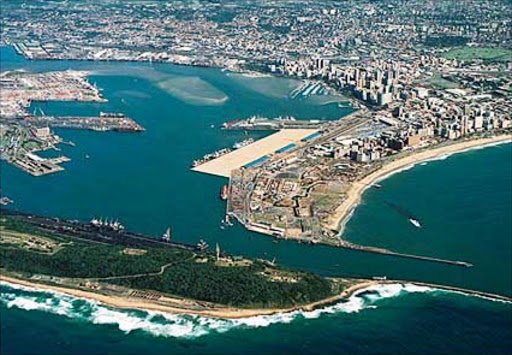 Durban harbour. File photo