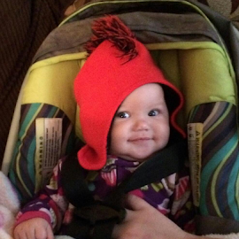 Red hat by Terry Linton - Babies & Children Child Portraits (  )