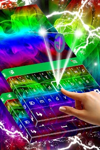 Abstraktní barevné klávesnice - náhled