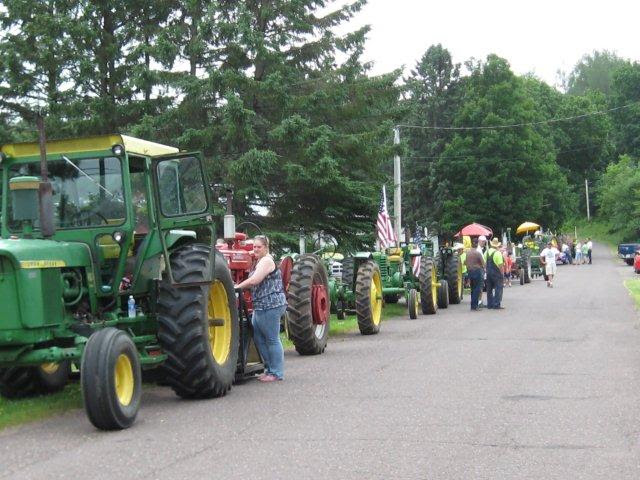 Mellen 4th of July Parade July 4, 2012