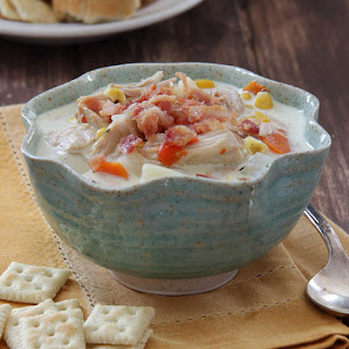 Slow Cooker Turkey and Potato Chowder