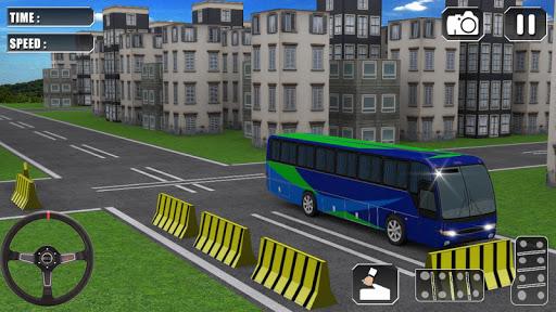 總線 停車處 駕駛 3D
