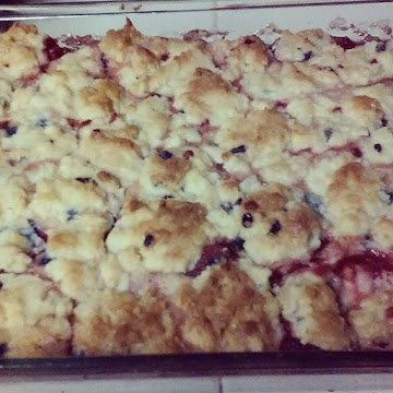 Double Berry Delite Cobbler! Recipe