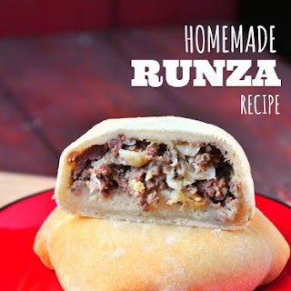 Homemade Runza (Meat & Cabbage Pocket).
