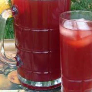 Cranberry Iced Tea Cape Cod Style.