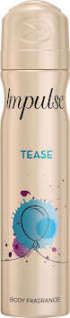 Impulse Body Spray Deodorant - Tease, 75ml