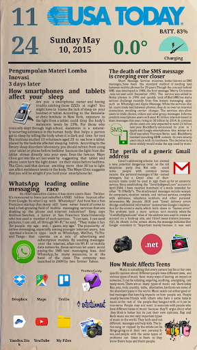 Newspaper 2 for Total Launcher