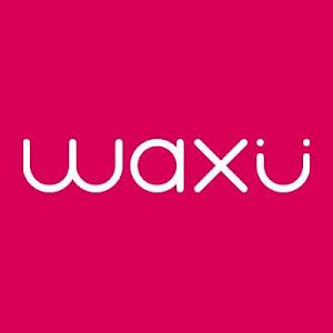a logo for waxu
