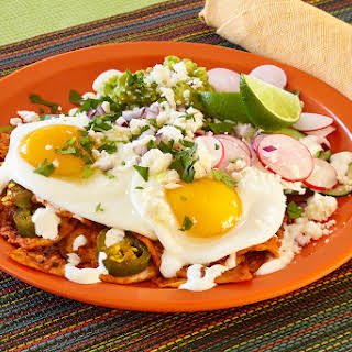 Spicy Chilaquiles and Fried Egg.