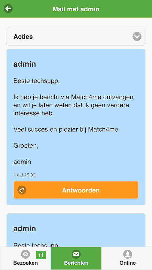 Match4Me- screenshot