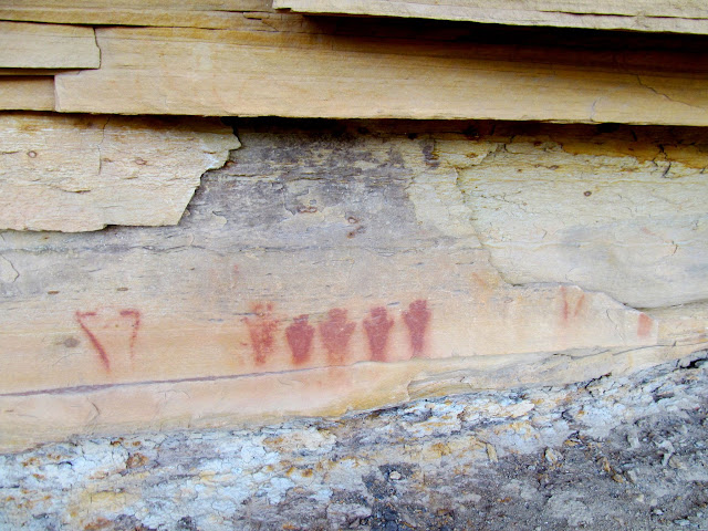 Molen Seep Wash pictographs
