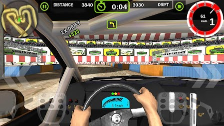 Rally Racer Dirt APK screenshot thumbnail 1