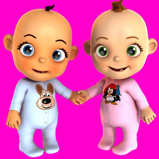 Talking Baby Twins Newborn Fun Icon