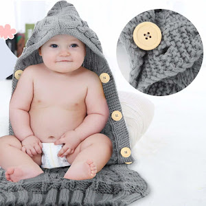 Sac de dormit pentru bebelusi, material impletit, nasturi, FizioTab®Kids