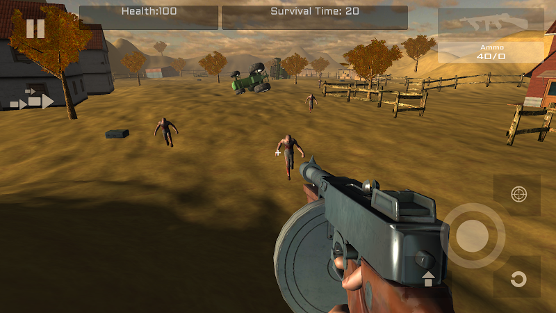 Скриншот Farm Zombies HD