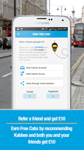Kabbee - book London minicabs- screenshot thumbnail