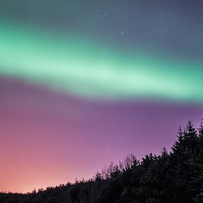 Colorful evening by Stefán Margrétarson - Landscapes Starscapes ( iceland, europe, hafnarfjörður, night, evening )