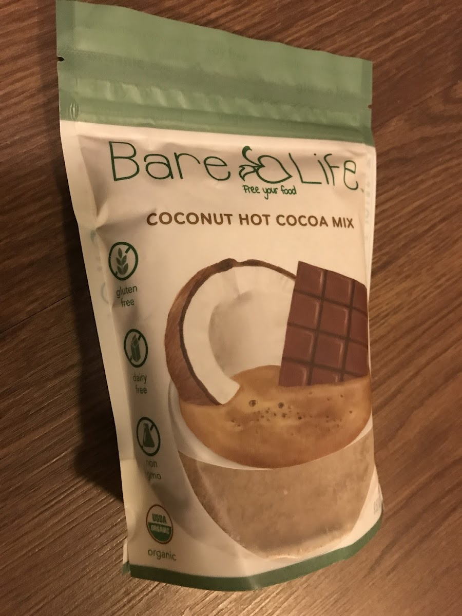 Coconut Hot Cocoa Mix - 10 Serving Pouch