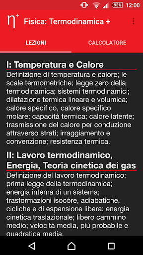 Fisica: Termodinamica PLUS