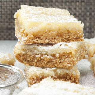 Ooey Gooey Butter Cake Bars Recipe