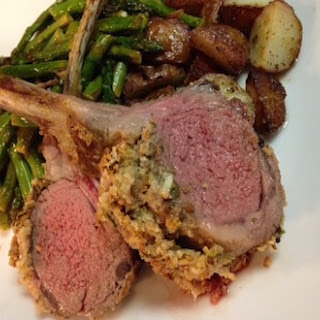 Rosemary Dijon-Crusted Rack of Lamb