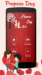 Propose Day Greeting Cards 2018 - náhled