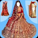 Bridal Lehenga, Lehenga Choli & Saree Photo Editor icon