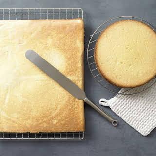 Sponge Cake with Spelt Flour.