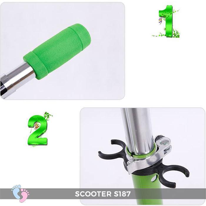 Xe trượt Scooter 4 bánh BROLLER S187 7