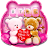 Cute Bears Keyboard Theme Icône
