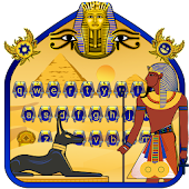 Egyptian Pharaoh Keyboard Theme