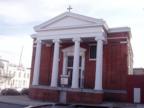 Photo: Union Square Greek Revival Church on West Lombard St.