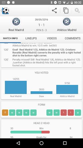 Football Live Scores screenshot 3