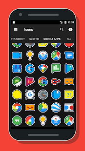 Firi - Icon Pack Screenshot