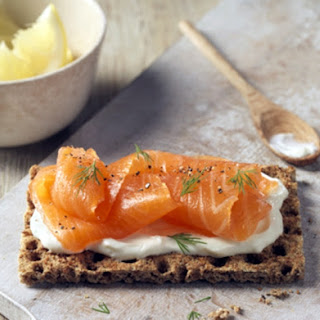 Cream Cheese and Delicious Smoked Salmon