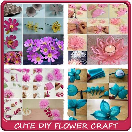 Cute DIY Flower Craft