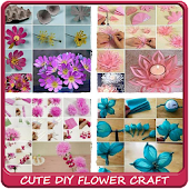 Cute DIY Flower Craft