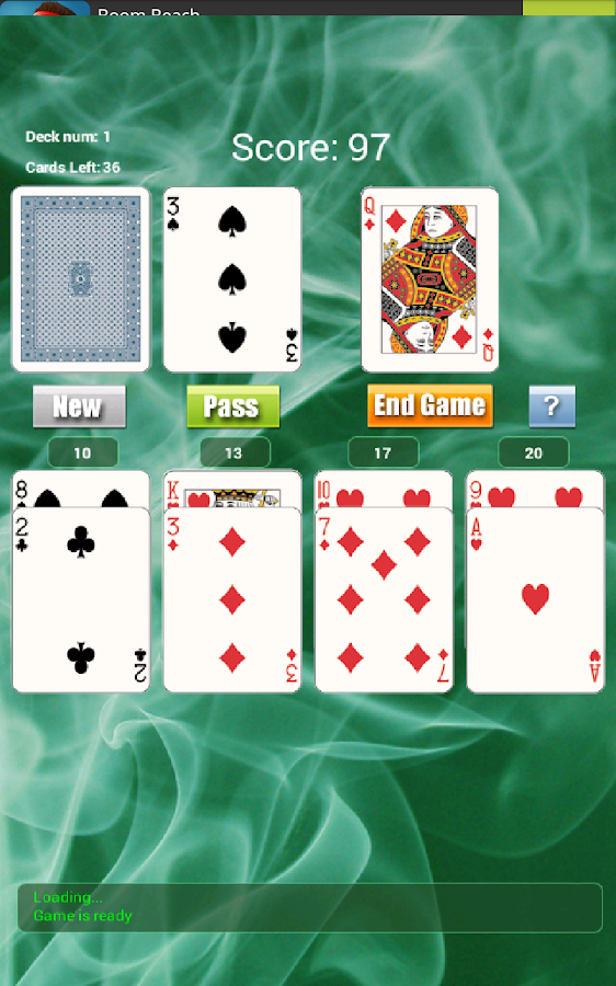 21 Solitaire Game FREE- screenshot