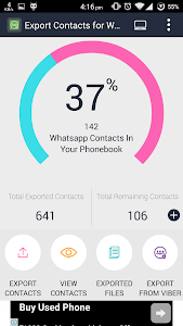 Export Contacts For WhatsApp v2
