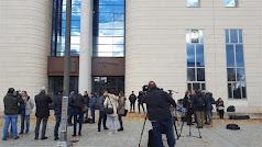 Imagen de archivo del juicio de La Manada.