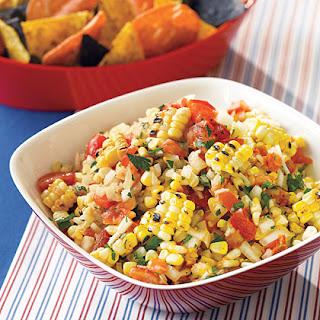 Roasted Corn Salsa Recipe – 4 Points +