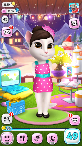 My Talking Tom Angela Mod Apk Download