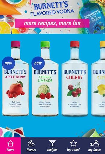 Burnett's Vodka App